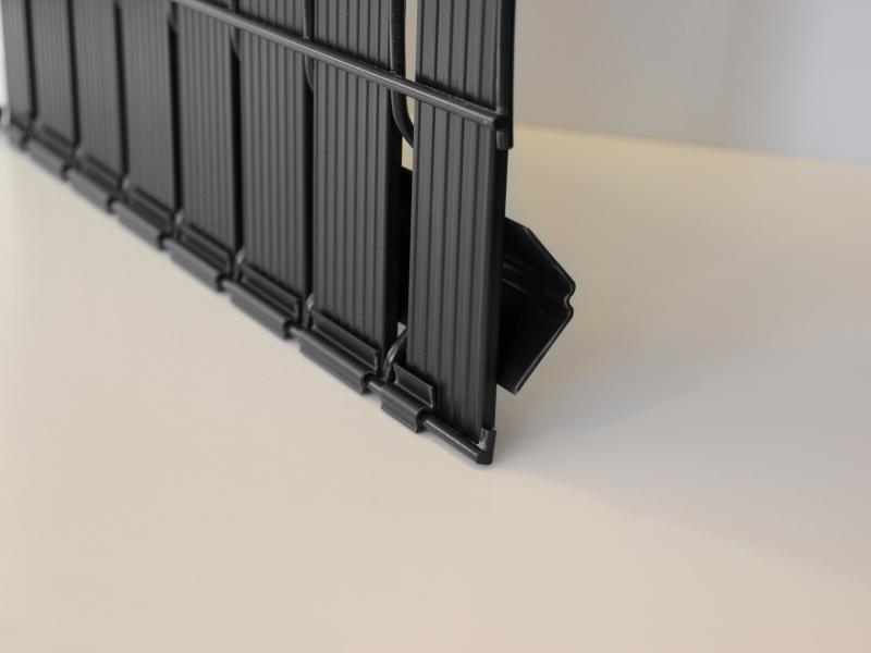 Panneaux anthracite PVC Clovision